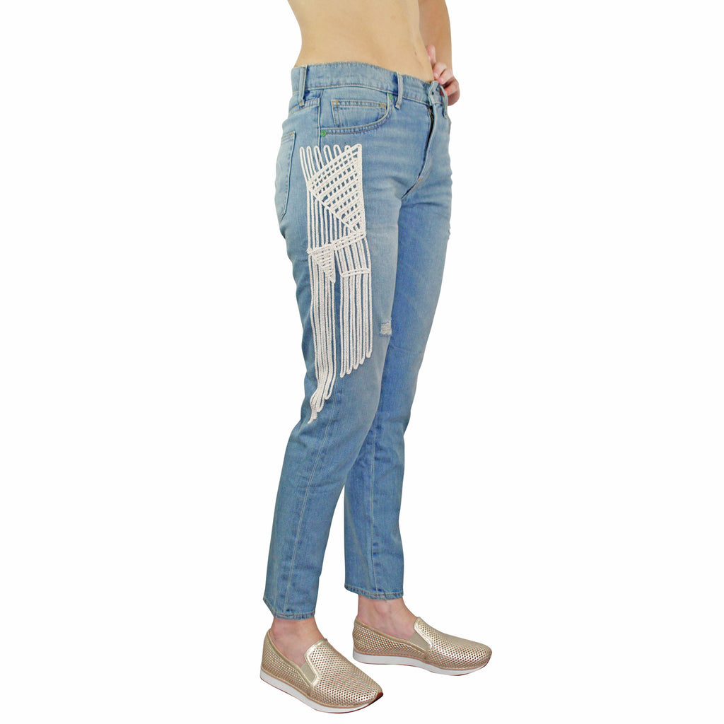 Sandrine Rose  The Skinny Boyfriend Jeans Size  Muse Boutique Outlet | Shop Designer Denim Pants on Sale | Up to 90% Off Designer Fashion