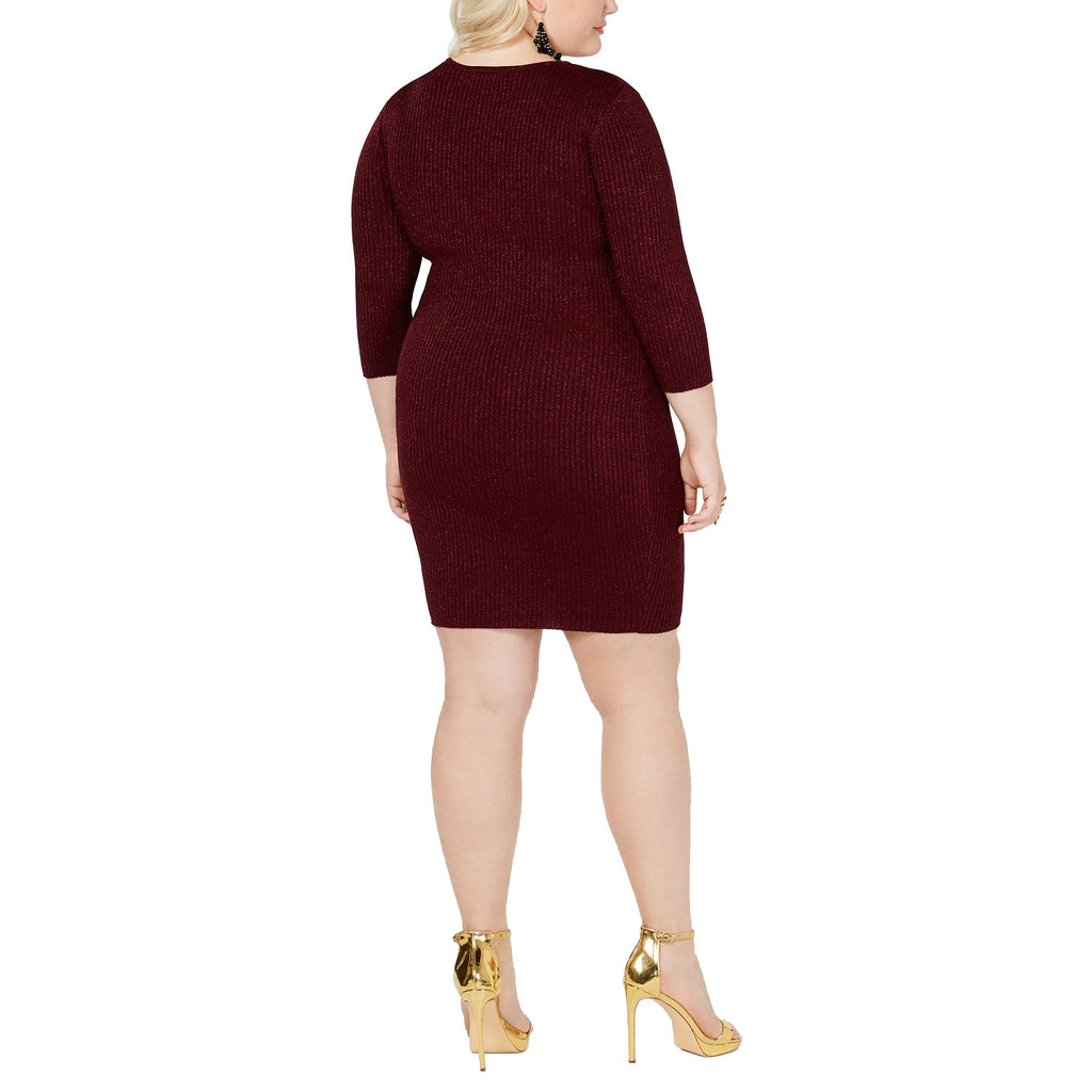Say What?  Lace-Up Detail Dress Size  Muse Boutique Outlet | Shop Designer Plus Size Dresses on Sale | Up to 90% Off Designer Fashion
