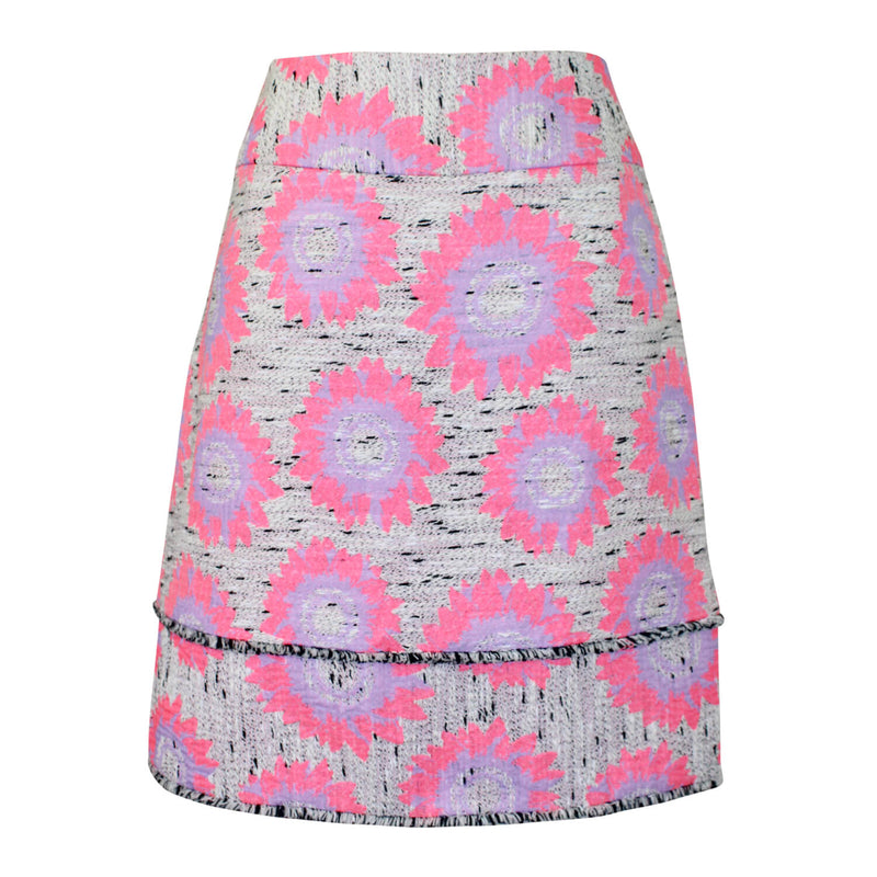 Sara Campbell  Floral Printed Tweed Skirt Size  Muse Boutique Outlet | Shop Designer Skirts on Sale | Up to 90% Off Designer Fashion