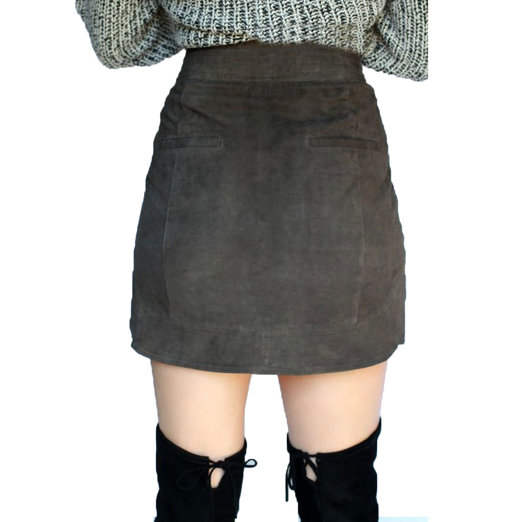 Sen  Suede Mini Skirt Size  Muse Boutique Outlet | Shop Designer Skirts on Sale | Up to 90% Off Designer Fashion