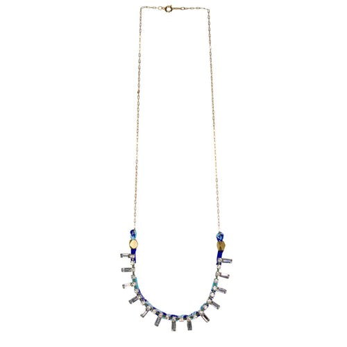 Serefina Jeweled Delicate Necklace   Muse Boutique Outlet