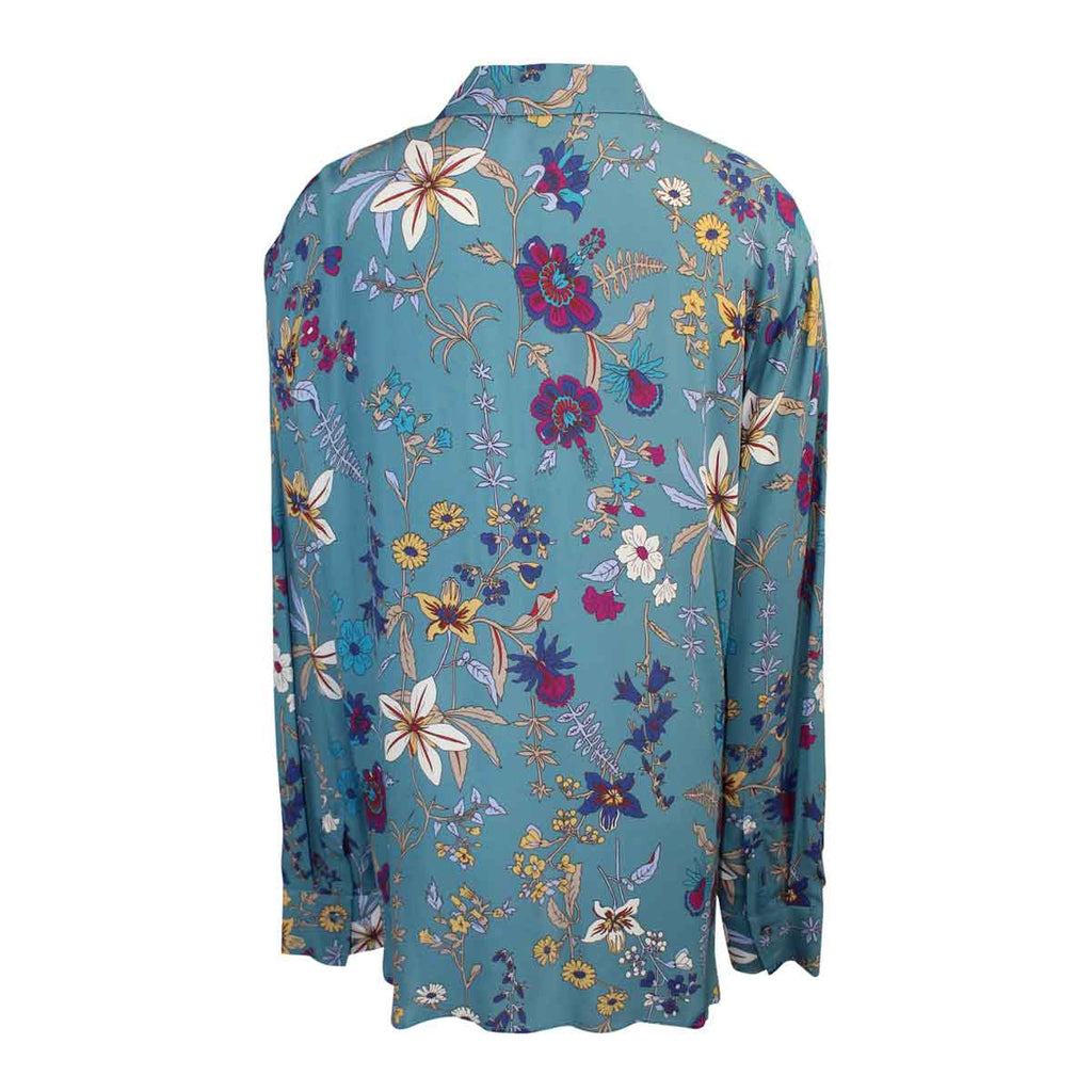 Seventy  Floral Button Down Top Size  Muse Boutique Outlet | Shop Designer Long Sleeve Tops on Sale | Up to 90% Off Designer Fashion