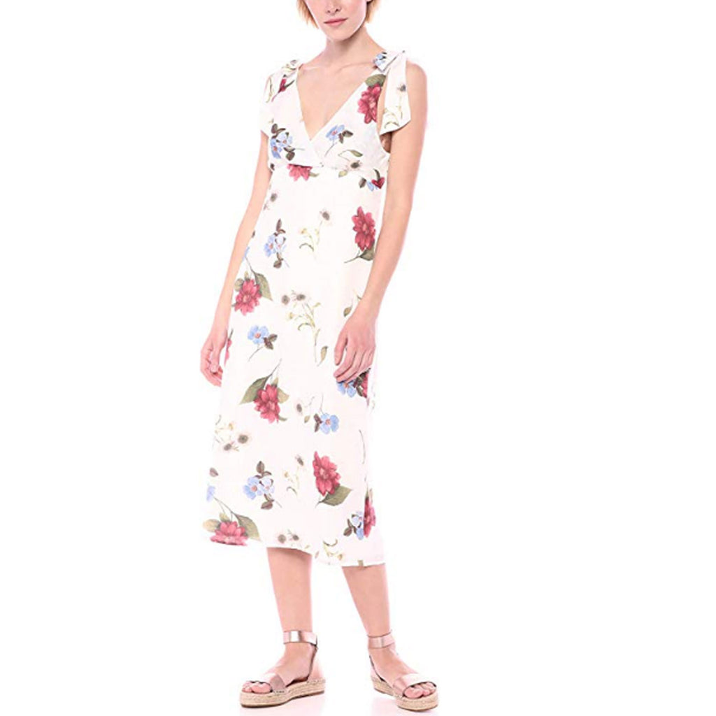 Show Me Your Mumu Florence Floral Silky Dots Arlene Sleeveless Floral Dress Size Small Muse Boutique Outlet | Shop Designer Dresses on Sale | Up to 90% Off Designer Fashion