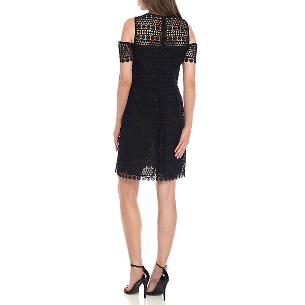 Shoshanna  Memphis Cold Shoulder Lace Dress Size  Muse Boutique Outlet | Shop Designer Clearance Dresses on Sale | Up to 90% Off Designer Fashion