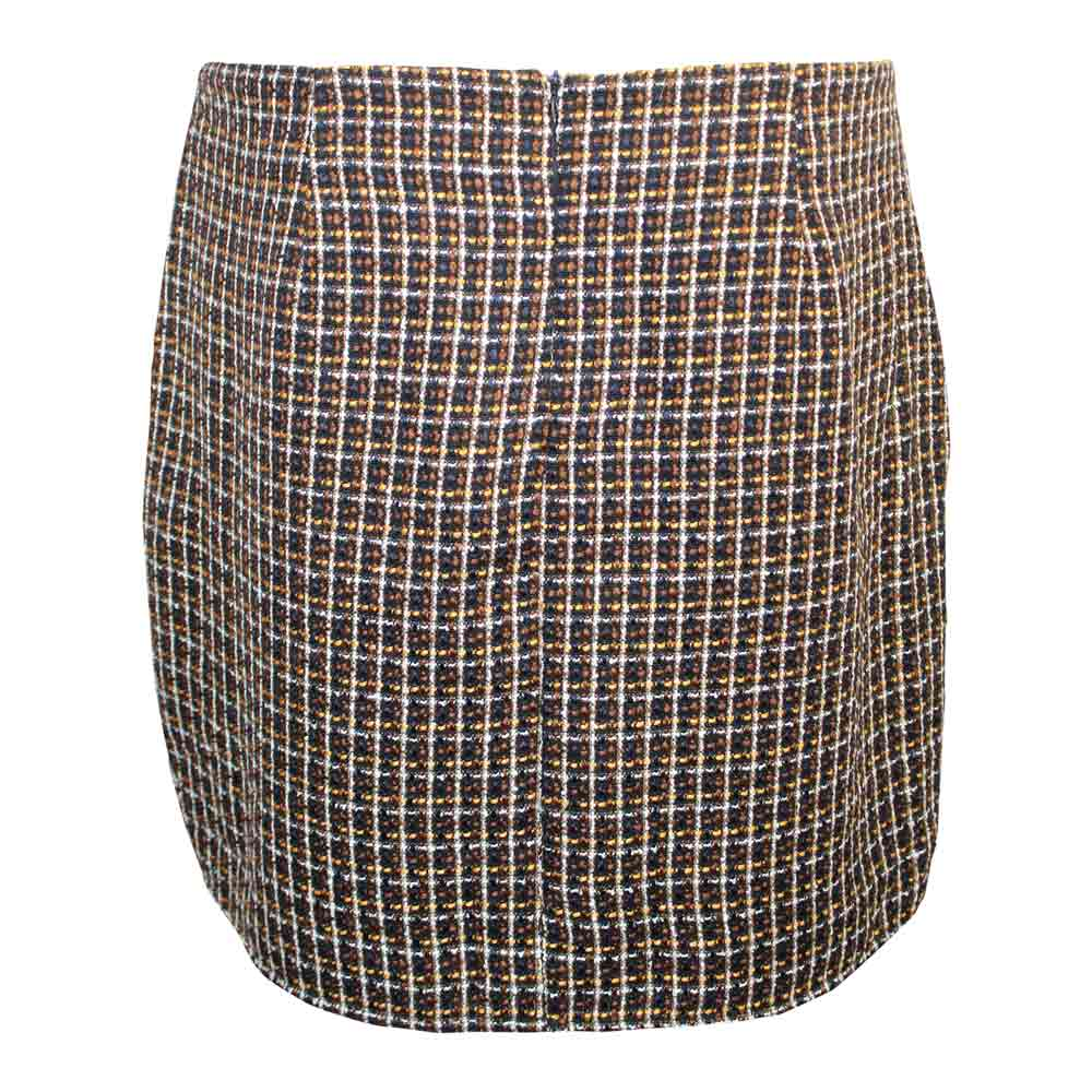Skies are Blue Boucle Skirt   Muse Boutique Outlet | Shop Designer Plus Size Skirts on Sale | Up to 90% Off Designer Fashion