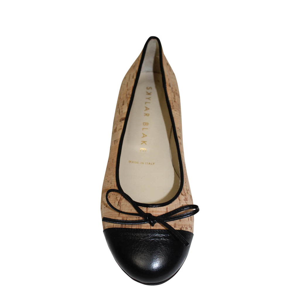 Skylar Blake  Cork Ballet Flat Size  Muse Boutique Outlet | Shop Designer Flats on Sale | Up to 90% Off Designer Fashion