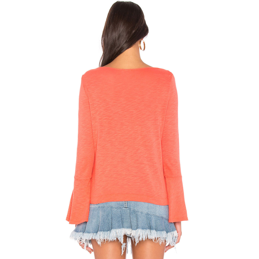 Splendid  Bell Sleeve Knit Tee Size  Muse Boutique Outlet | Shop Designer Clearance Tops on Sale | Up to 90% Off Designer Fashion