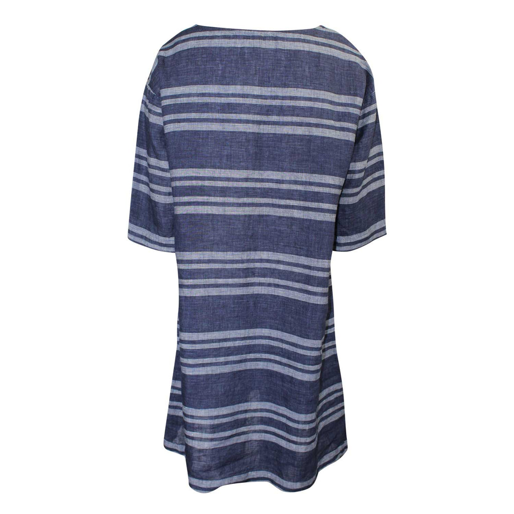 Studio 412 Striped Linen Shift Dress   Muse Boutique Outlet | Up to 90% Off Designer Fashion