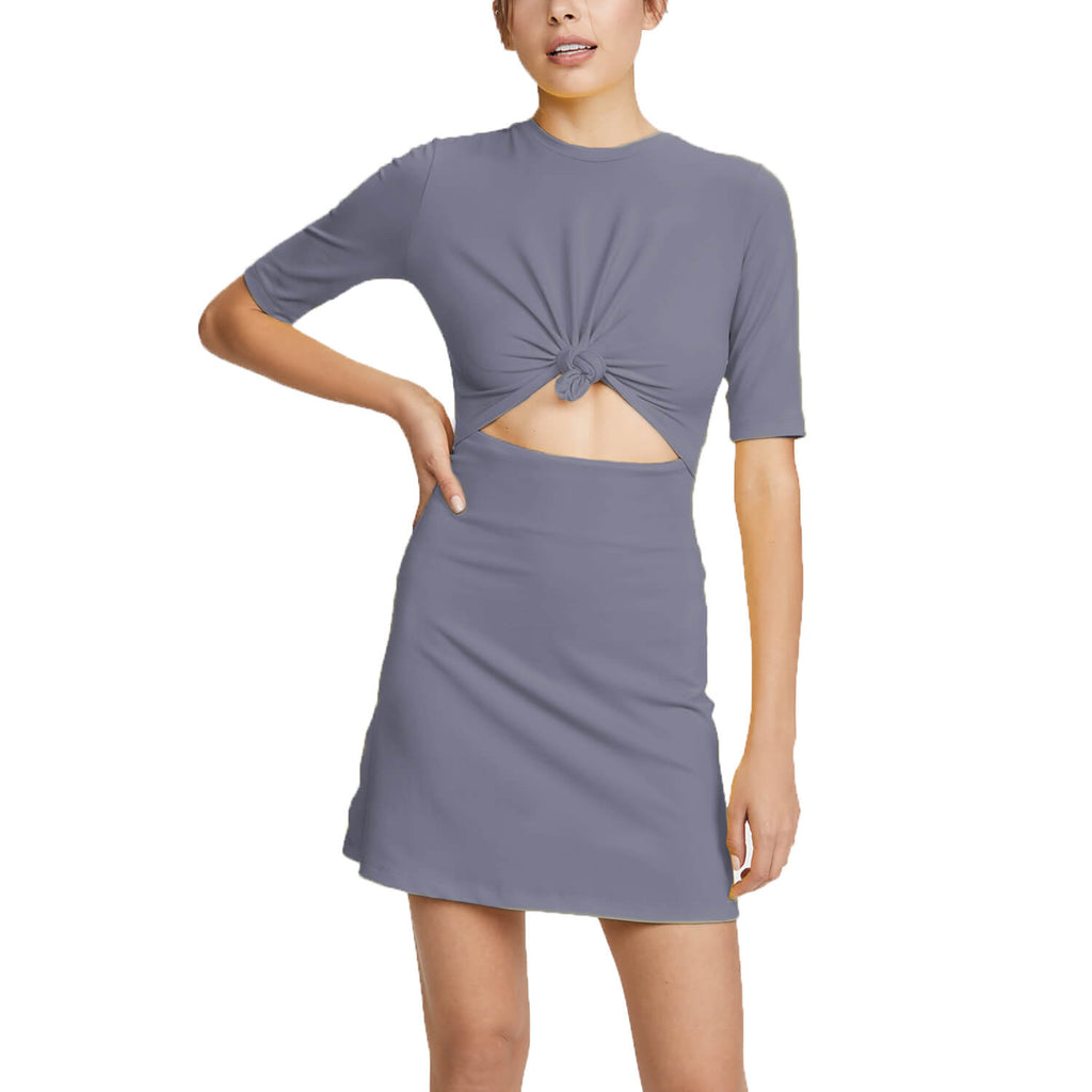 Susana Monaco London Fog Knot Front Dress Size Extra Small Muse Boutique Outlet | Shop Designer Dresses on Sale | Up to 90% Off Designer Fashion