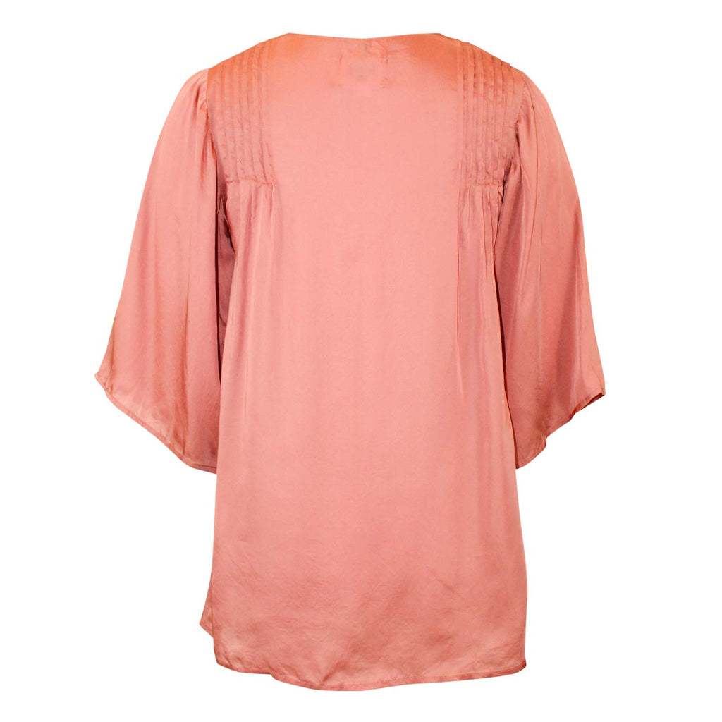 Swildens  Soleda Pintuck Blouse Size  Muse Boutique Outlet | Shop Designer Blouses on Sale | Up to 90% Off Designer Fashion