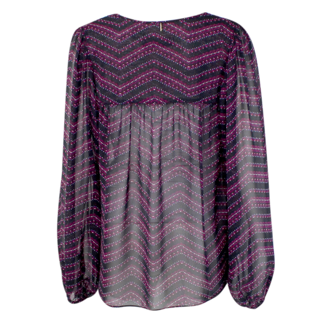 T-Bags Los Angeles  Chiffon Long Sleeve Tunic Top Size  Muse Boutique Outlet | Shop Designer Clearance Tops on Sale | Up to 90% Off Designer Fashion