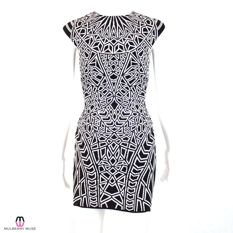 RVN  Geo Jacquard Mini Dress Size  Muse Boutique Outlet | Shop Designer Clearance Dresses on Sale | Up to 90% Off Designer Fashion