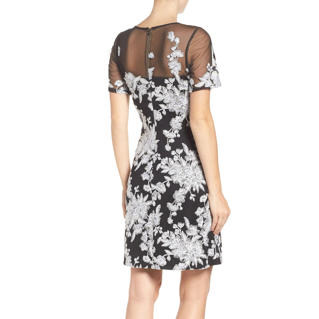 Tadashi Shoji  Embroidered Sheath Dress Size  Muse Boutique Outlet | Shop Designer Dresses on Sale | Up to 90% Off Designer Fashion