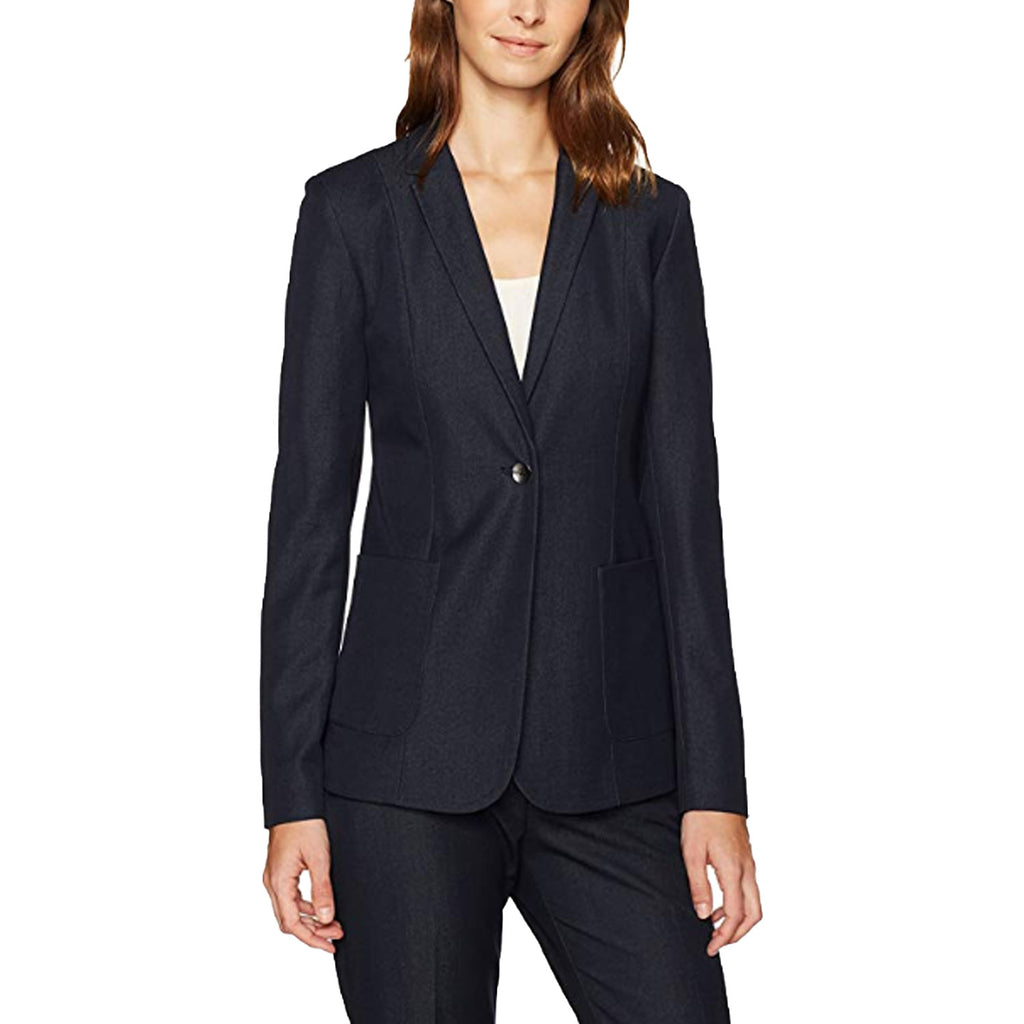 T Tahari Navy Wendy Jacket Size 8 Muse Boutique Outlet | Shop Designer Blazers on Sale | Up to 90% Off Designer Fashion