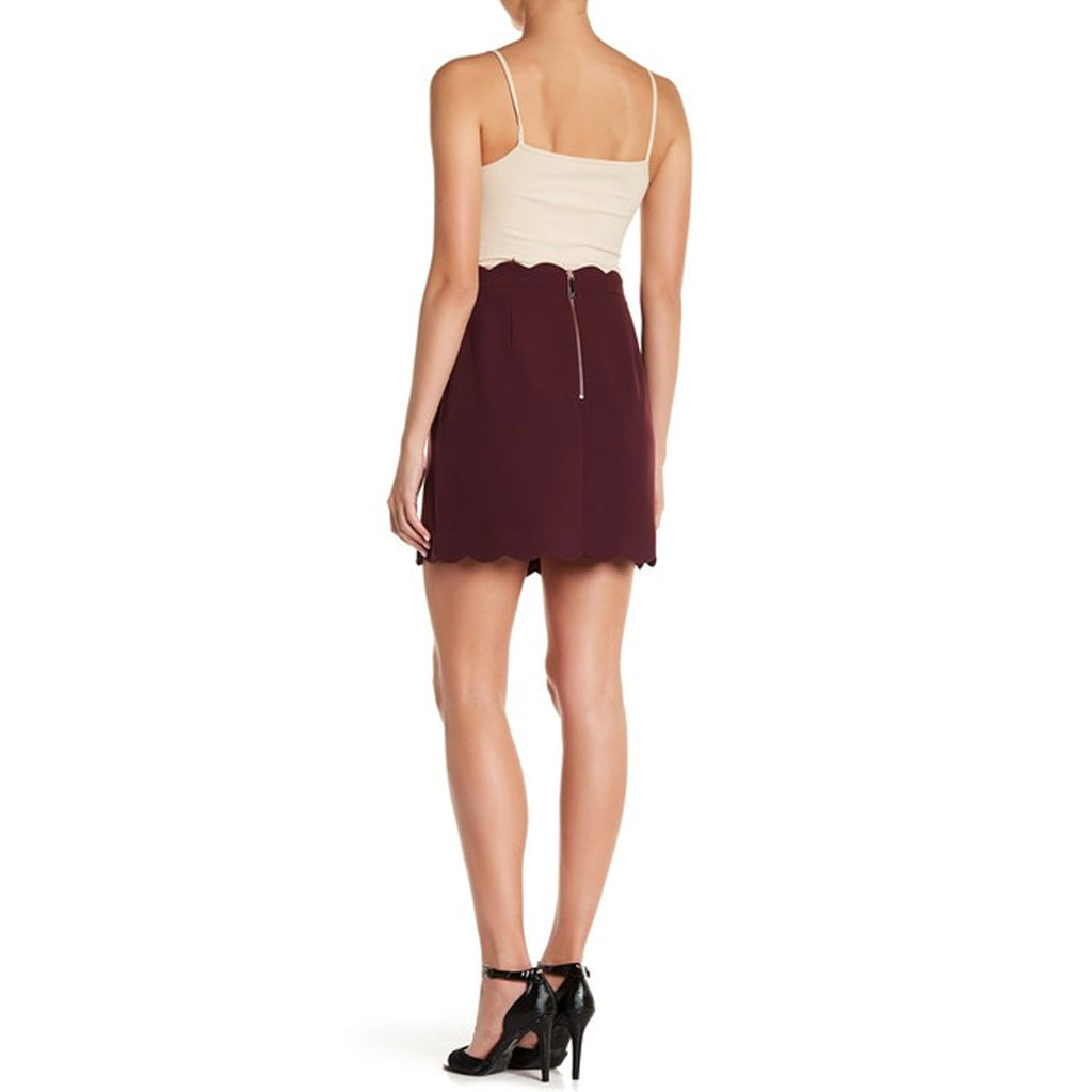 Ted Baker  Nelliye Faux Wrap Mini Skirt Size  Muse Boutique Outlet | Shop Designer Skirts on Sale | Up to 90% Off Designer Fashion