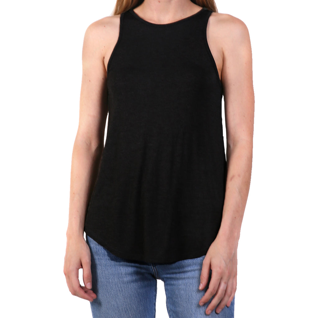 The Lady & The Sailor Black High Neck Tank Size 3 Muse Boutique Outlet | Shop Designer Clearance Tops on Sale | Up to 90% Off Designer Fashion