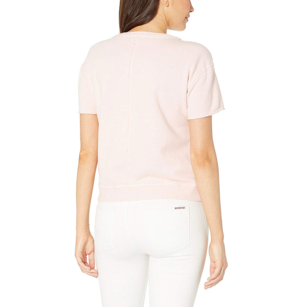 Three Dots  3 - End Fleece Top Size  Muse Boutique Outlet | Shop Designer Short Sleeve Tops on Sale | Up to 90% Off Designer Fashion