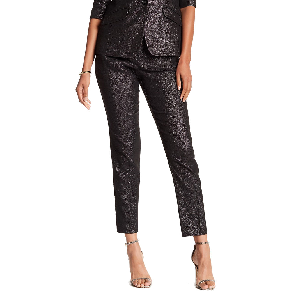 Trina Turk Gunmetal Aubree 2 Glitter Pants Size 4 Muse Boutique Outlet | Shop Designer Pant on Sale | Up to 90% Off Designer Fashion