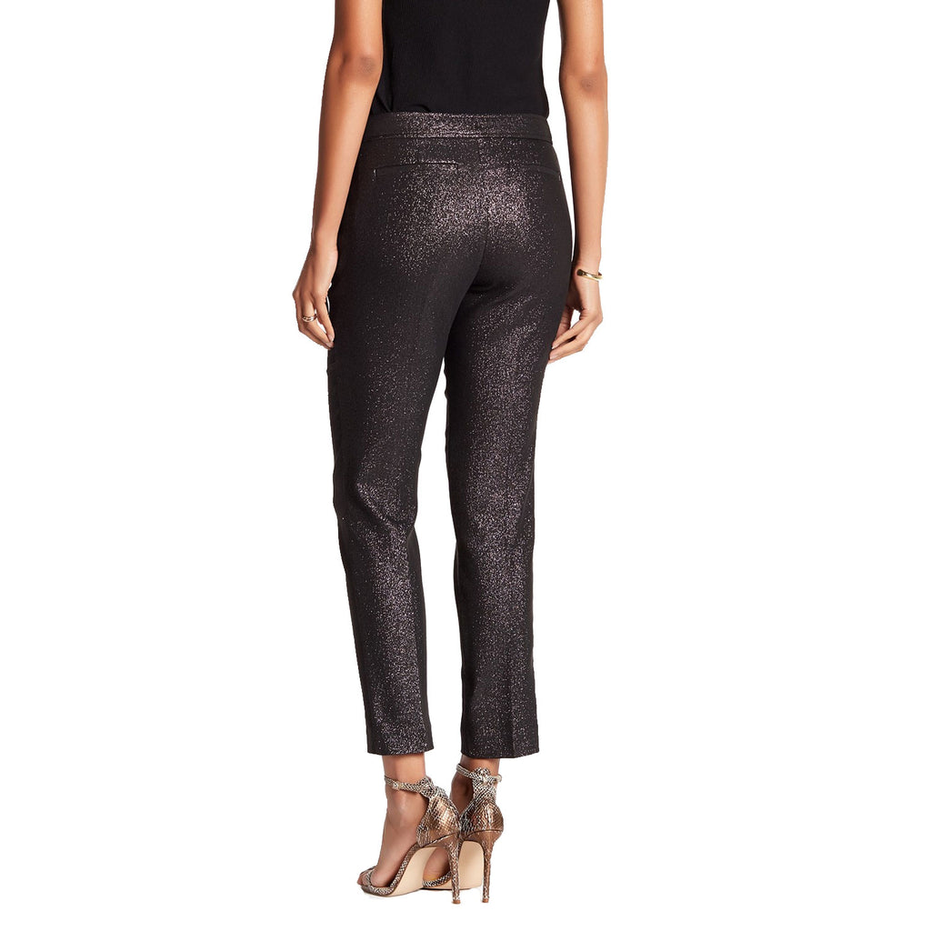 Trina Turk  Aubree Glitter Pants Size  Muse Boutique Outlet | Shop Designer Pant on Sale | Up to 90% Off Designer Fashion