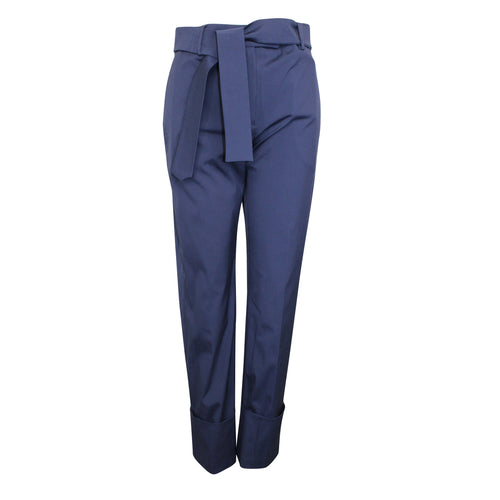 True Royal Cloe Trousers 42 Navy Muse Boutique Outlet