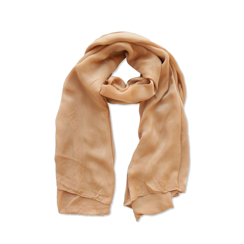 Verona Collection Gold Luxury Satin Scarf Size One Size Fits All Muse Boutique Outlet | Shop Designer Clearance Accessories on Sale | Up to 90% Off Designer Fashion