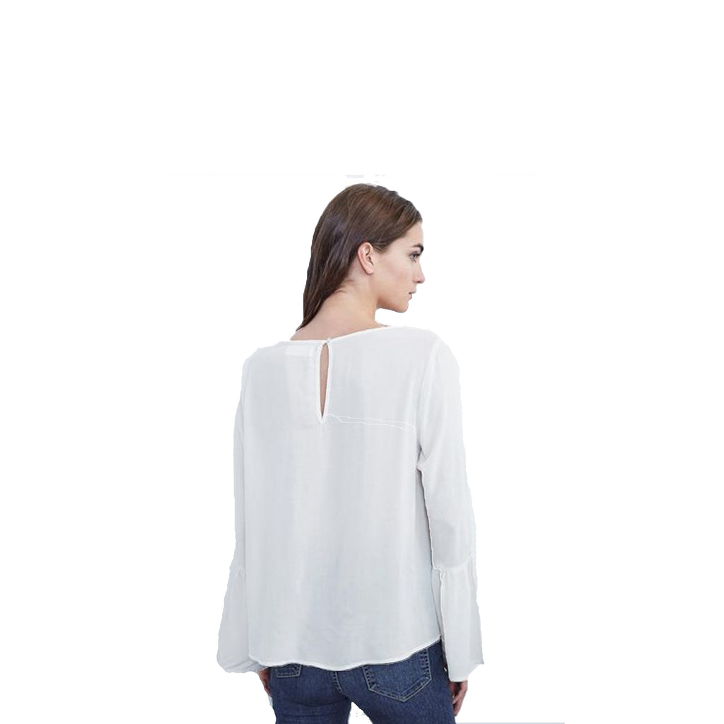 Velvet by Graham & Spencer  Rhea Bell Sleeve Top Size  Muse Boutique Outlet | Shop Designer Clearance Tops on Sale | Up to 90% Off Designer Fashion