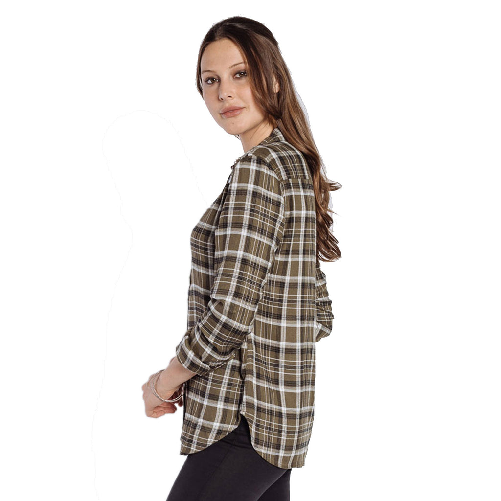 Velvet Heart  Nena Plaid Button Up Size  Muse Boutique Outlet | Shop Designer Clearance Tops on Sale | Up to 90% Off Designer Fashion