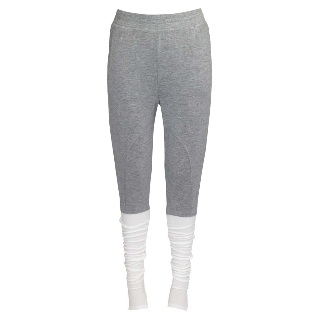 Vimmia Light Heather Grey Retreat Stirrup Pant Size Extra Small Muse Boutique Outlet | Shop Designer Clearance Activewear on Sale | Up to 90% Off Designer Fashion