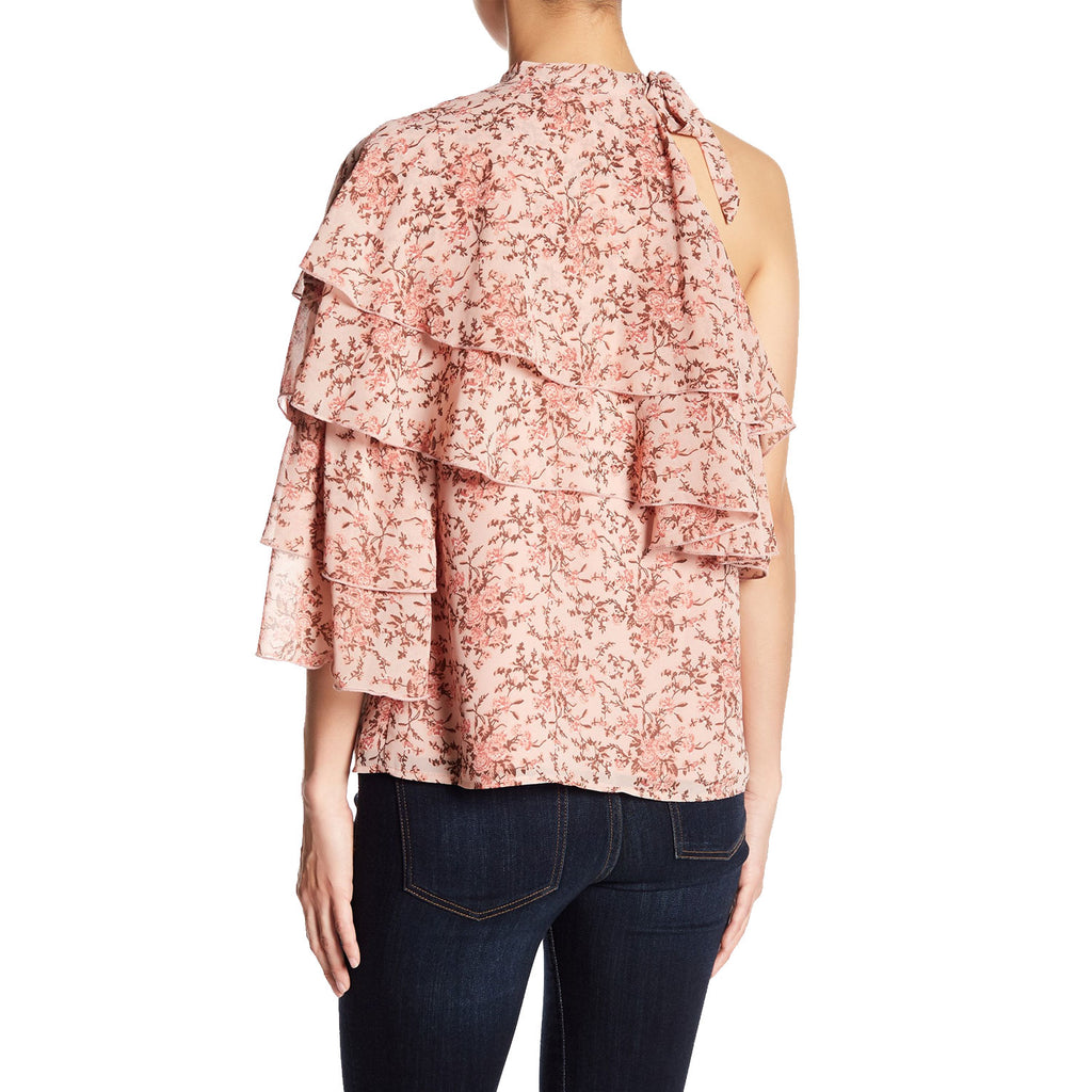 WAYF  Colton Ruffle Tiered Floral Blouse Size  Muse Boutique Outlet | Shop Designer Clearance Tops on Sale | Up to 90% Off Designer Fashion