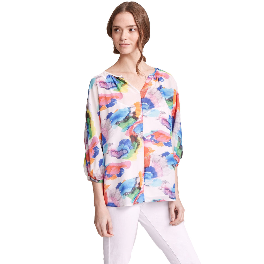 Marie Oliver Kalesiscope Whitney Printed Top Size Extra Extra Small Muse Boutique Outlet | Shop Designer Clearance Tops on Sale | Up to 90% Off Designer Fashion