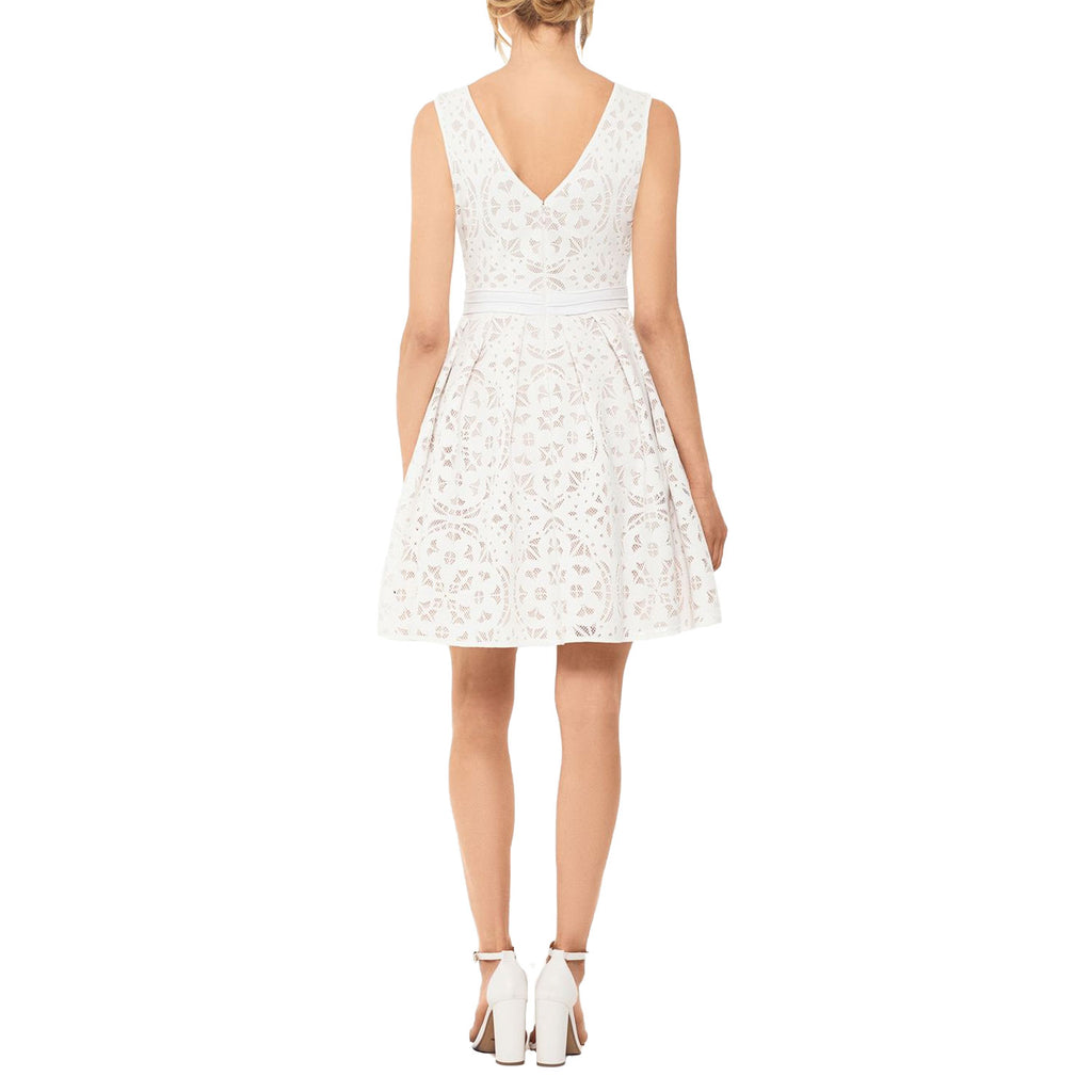 Xscape  Laser Cut Lace Fit & Flare Dress Size  Muse Boutique Outlet | Shop Designer Dresses on Sale | Up to 90% Off Designer Fashion