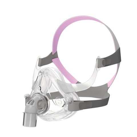 Resmed Airfit™ F10 Full Face Mask For Her with Pink Headgear