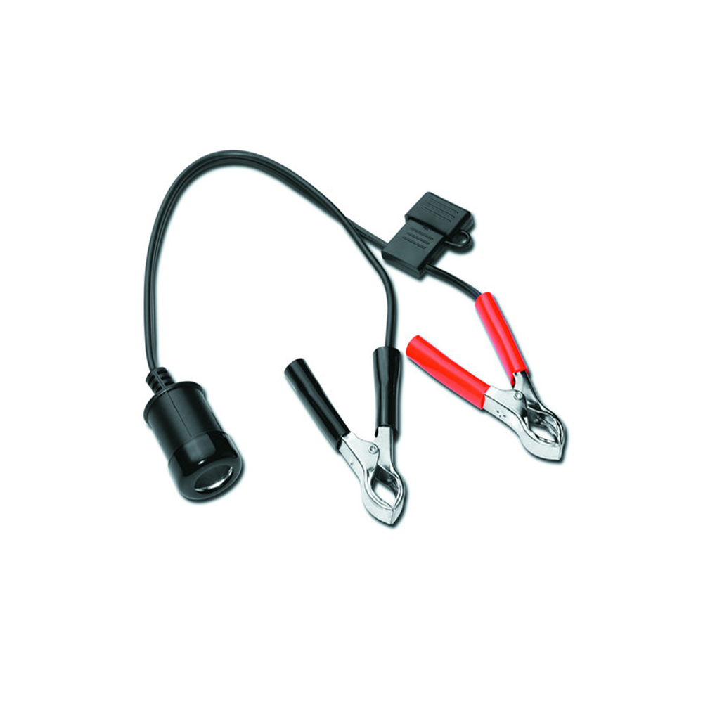 12V DC Battery Adapter Cable with Clips - 532209