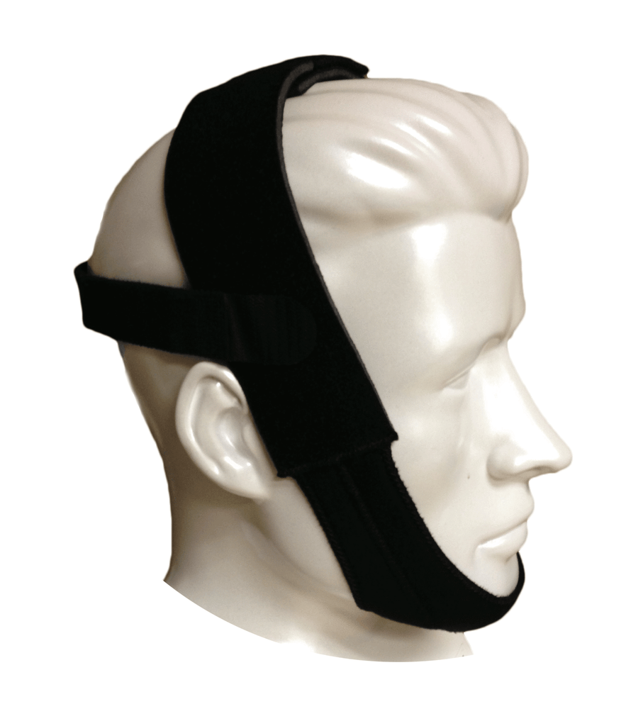 Respironics Black Premium Chinstrap for CPAP