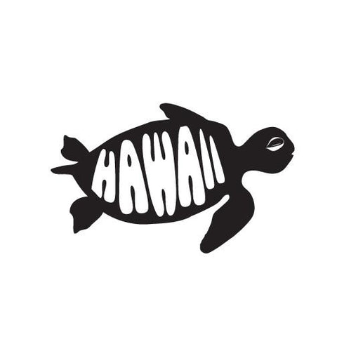 Honu Hawaii Diecut Sticker 11-7-19