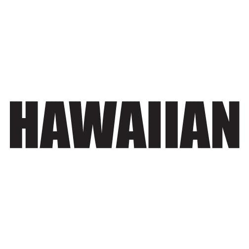 Hawaiian Impact Diecut Sticker