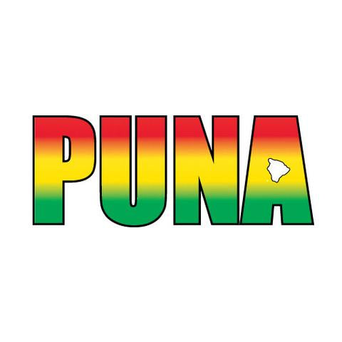 "Puna Impact 8"" Sticker (click for colors)"