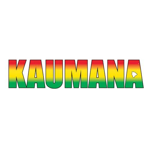 Kaumana Impact Sticker