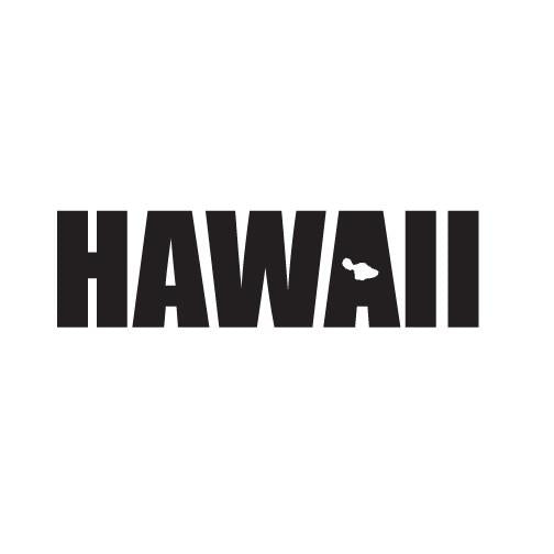 "Hawaii Impact (Maui) 8"" Diecut Sticker"