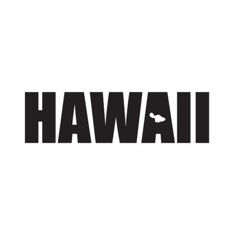 "Hawaii Impact (Maui) 5"" Diecut Sticker"