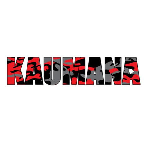 Kaumana Impact Sticker 7/31