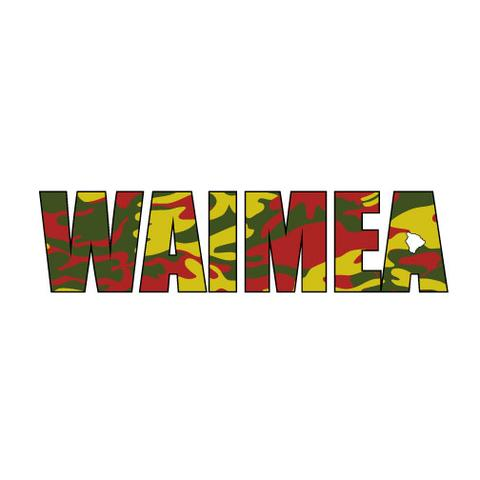 Waimea Impact Sticker (click for colors)
