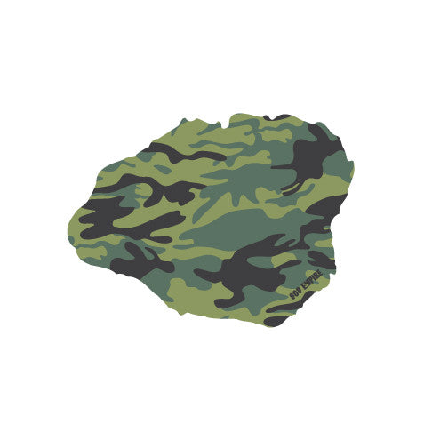 Kauai Camo Stickers 7/31