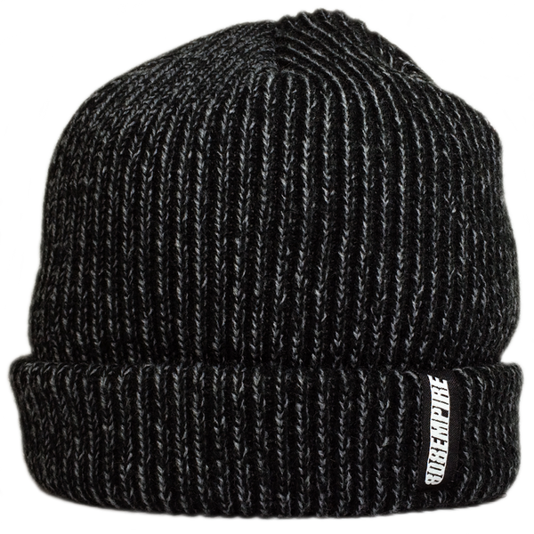 """Seeds"" Black Steel Dock Beanie By 808 Empire  8/9"