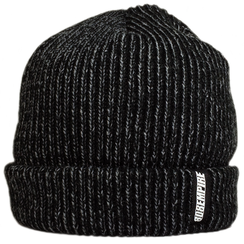 """Seeds"" Black Steel Dock Beanie By 808 Empire"