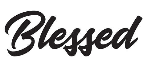 Blessed Soda Diecut Sticker 11-7-19