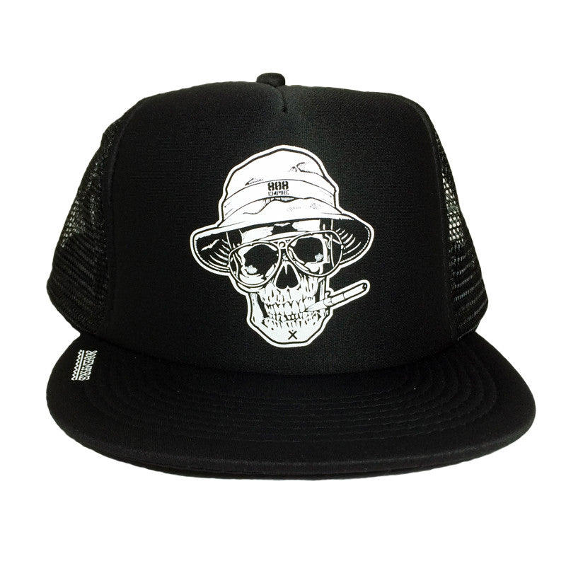 """Skull"" Trucker By 808 Empire"