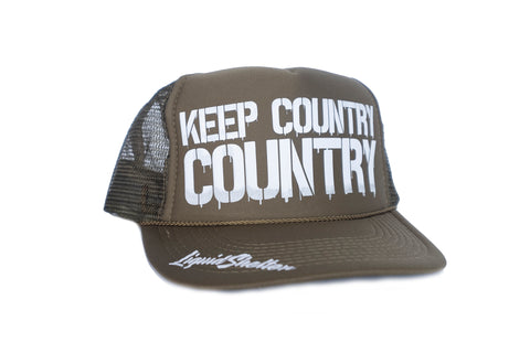 Keep Country Drip Trucker