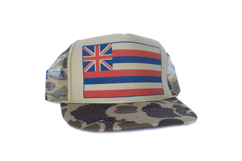 Hawaii Flag Trucker By Liquid Shelter