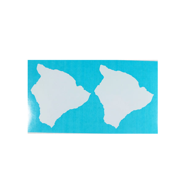 "Big Island 3"" Diecut Sticker Card"